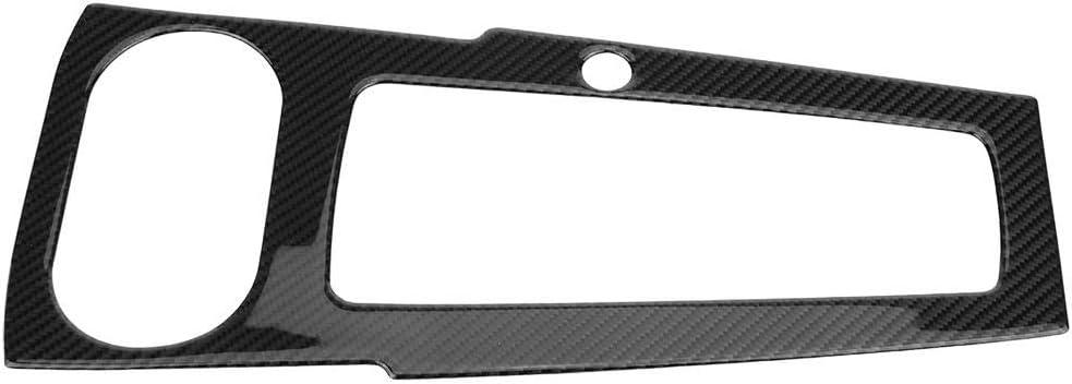 2012 Biuzi Garniture de Couvercle de Panneau de Commande A Compatible Audi A3 8V Garniture de Couvercle de Panneau de Commande de Changement de Vitesse de Console int/érieure en Fibre de Carbone