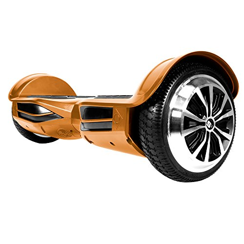 SWAGTRON T3 - UL 2272 Certified Hoverboard - Electric Self-Balancing Scooter with Bluetooth and App (Gold)