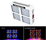 1200W LED Grow Lights 12-band Full Spectrum Plant Growing Light with UV/IR for Veg and Flower