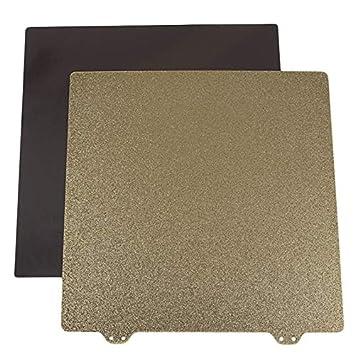 Semoic Impresora 3D Cama Caliente Oro Doble Capa Textura Pei Polvo ...