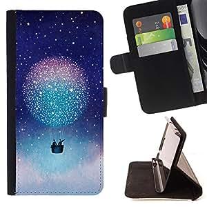 King Case - FOR HTC One M9 - Powerful and unconstrained style - Prima caja de la PU billetera de cuero con ranuras para tarjetas, efectivo Compartimiento desmontable y correa para la mu?eca