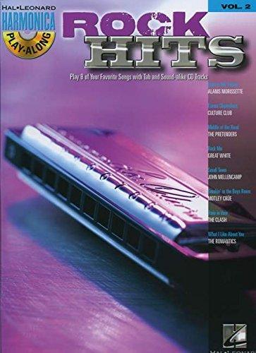 Rock Hits - Harmonica Play- Along Volume 2 Book/CD (Diatonic Harmonica) (Hal-Leonard Harmonica Play-along) - Hal Leonard Organ