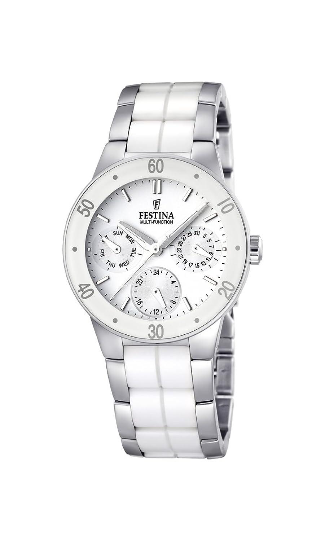Festina Damen-Armbanduhr XS Trend Ceramic Multifunktion Chronograph Keramik F16530-1