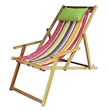 Buy Hangit Easy deck wooden chair furniture for garden living room