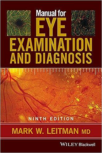 dc9e139f4b4 Manual for Eye Examination and Diagnosis  9781119243618  Medicine ...