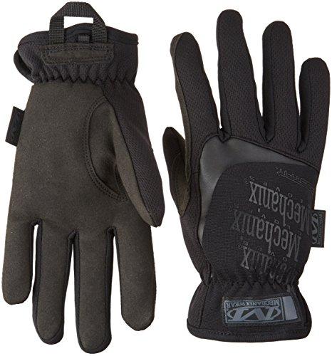Fit Glove Fast 008 (Mechanix Wear MFF-F55-008 TAA Compliant Fast Fit Glove, Small, Black)