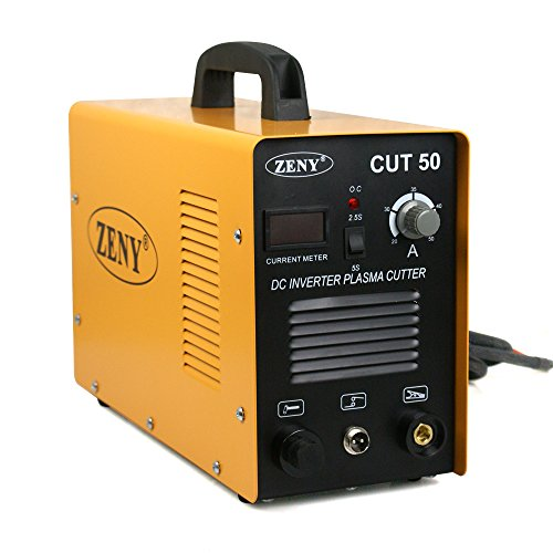 ZENY DC Inverter Plasma Cutter 50AMP CUT-50 Dual Voltage 110-220V Cutting Machine...