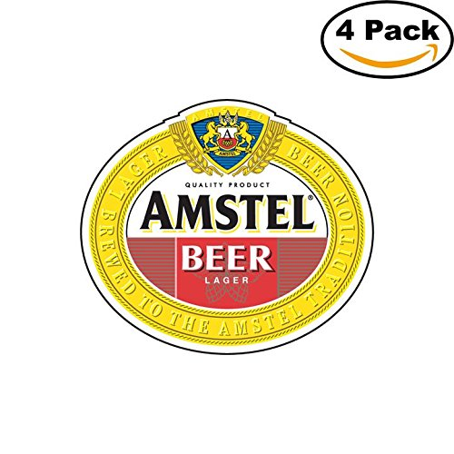 amstel-beer-logo-alcohol-4-vinyl-stickers-decal-bumper-window-bar-wall-4x4