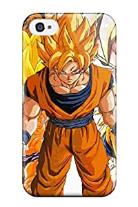 Premium Protection Dbz Goku Case Cover For Iphone 4/4s- Retail Packaging