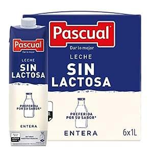amazon leche pascual sin lactosa precio