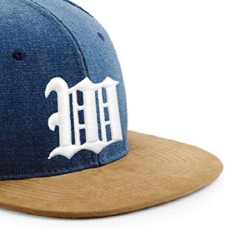 de M en con letra Snapback de con béisbol 3D tela ante Multicolor y diseño J gótico logo Gorra estilo Up7p1vO5