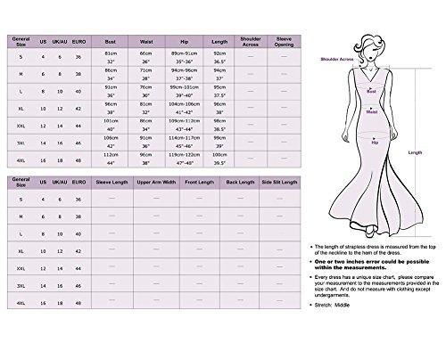 CoutureBridal - Vestido - Una manga - para mujer korallenfarbig
