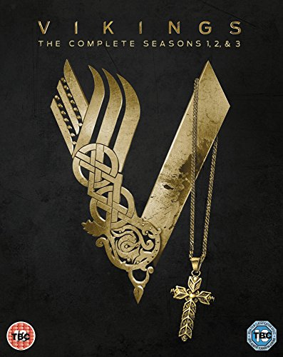 Vikings: Season 1-3 [Region 2] [DVD] [2015] (The Vikings Season 2 compare prices)