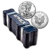 monster box - 2018 100-Coin Silver American Eagle APMEX Mini Monster Box 1 OZ Brilliant Uncirculated