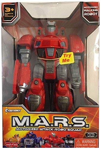 Cybotronix M.A.R.S. Motorized Attack Robo Squad - Lo Mas Santa