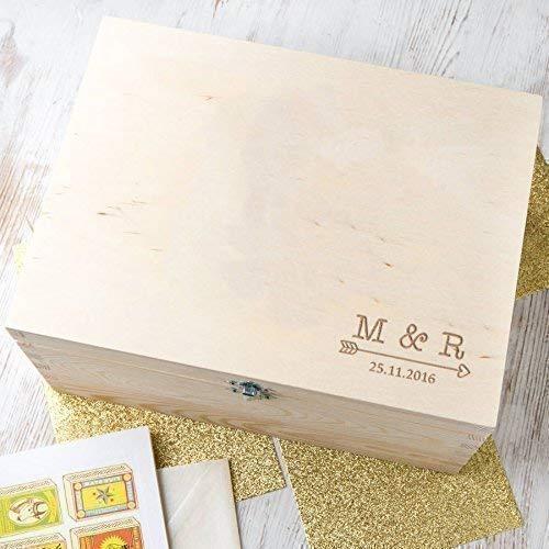 Amazon Personalized Keepsake Boxesmemory Box For Couples