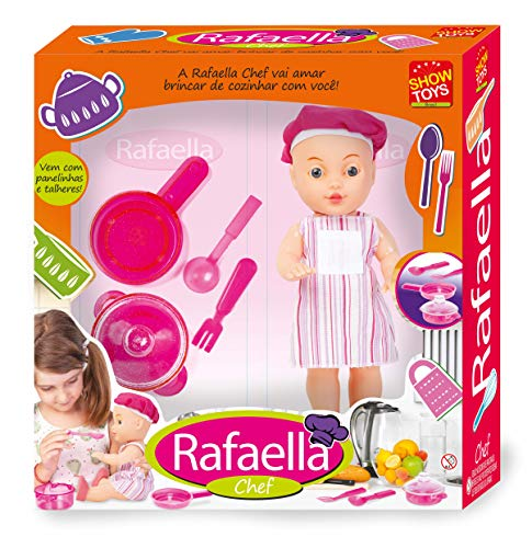 Boneca Rafaella Chef Show Toys