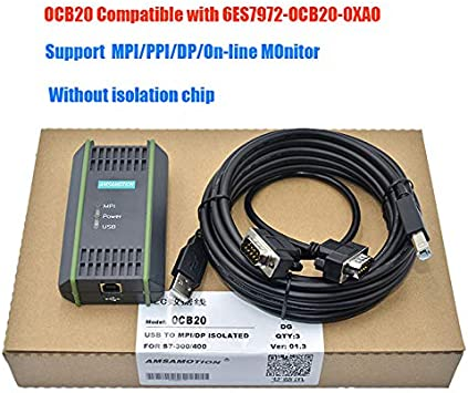 for Siemens s7-200 300plc Programming Cable Communication Data Download line 6ES7972-0CB20-0XA0