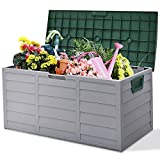 COSTWAY Storage Box Outdoor Sunbizpro