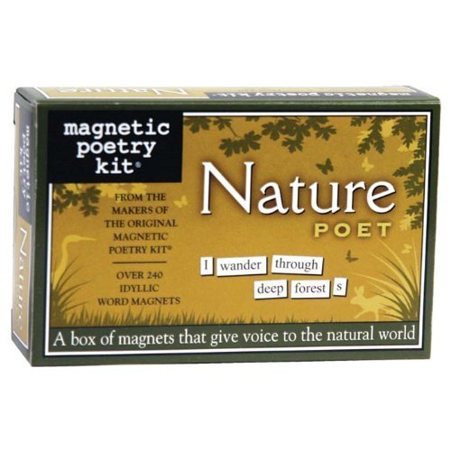 Nature Poet Magnetic Poetry Kit by Magnetic Poetry -