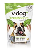 Image of V-dog Vegan Breathbones Dog Treats, Regular, 8.5 ounce