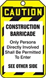 CAUTION CONSTRUCTION BARRICADE (50 Pack)