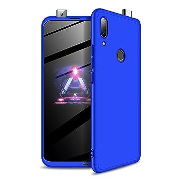 Funda Huawei P Smart Z (2019) Ultra Delgado PC Duro 360 Grados Cuerpo Completo Carcasa Mate 3 en 1 Antigolpes Anti-Arañazos [Protección Completa Antes ...