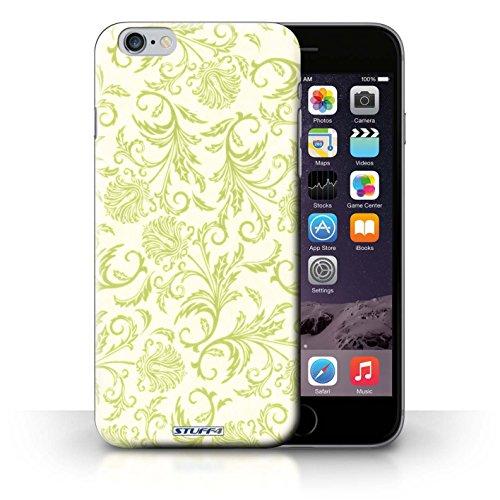 Hülle Case für iPhone 6+/Plus 5.5 / Gelbe Blumen Entwurf / Blumen Collection