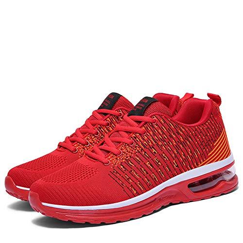 Ginnastica Unisex Sportive Running Sport Tqgold® Rosso Basket Uomo Outdoor Fitness Sneakers Donna Da Scarpe Basse dXwwRUAx