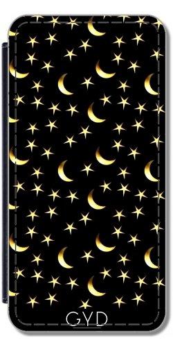 Funda Carcasa Cubierta de PU Cuero para Huawei P10 - Modelo De Estrellas De La Luna by hera56