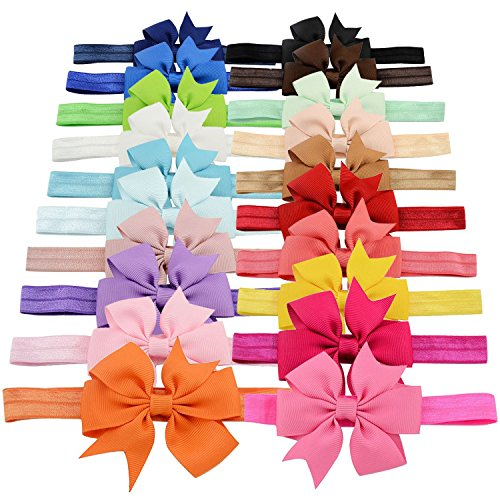 yoy-fashion-baby-girls-boutique-hair-accessories-stretchy-elastic-bands-headbands-set-with-grosgrain
