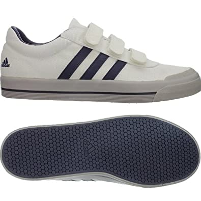 Homme Velcro Pour Blanc 1 Brasic Adidas 44 Baskets 2 23 Blanc U4CTYS5wq5