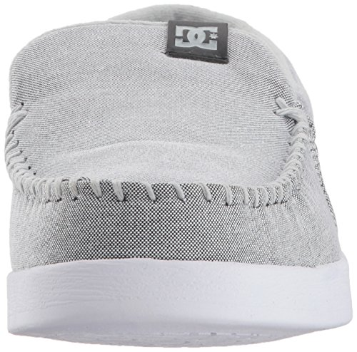 DC Men's Villain TX Slip-on Skate Shoe Grey/White/Grey best place cheap online big discount for sale outlet wiki free shipping popular 9B0fg2nV