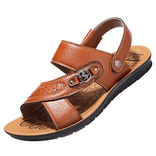Keplia Skidproof Cool Fashion Sandalen Sandalen Voor Mannen Geel