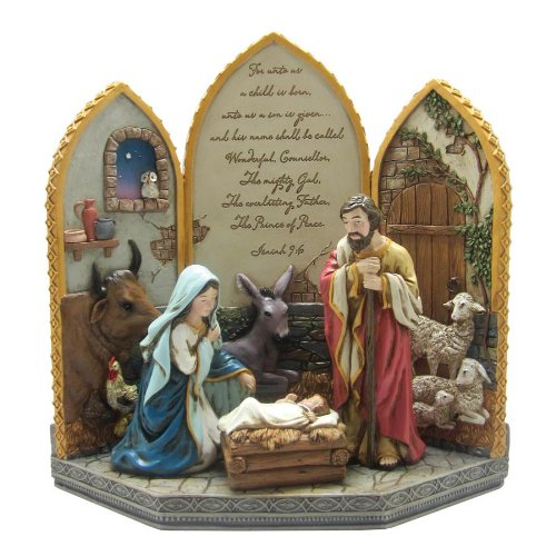 enesco-reason-to-rejoice-by-gregg-gift-unto-us-4-piece-nativity-965-inch