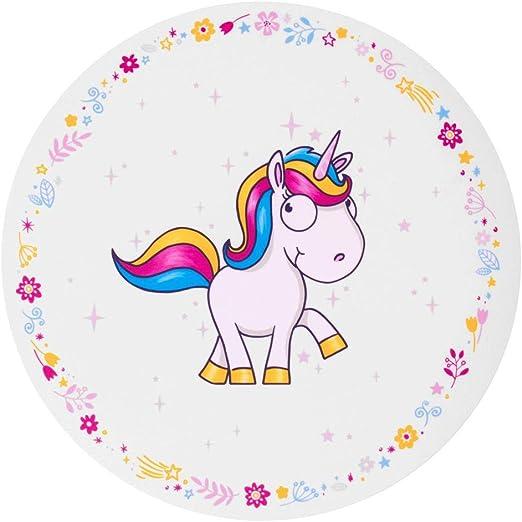 trendaffe Comic de Unicornio en el Stand Espacio Juego – Comic Unicornio Juego de Mesa manteles Individuales Mesa Matte: Amazon.es: Juguetes y juegos