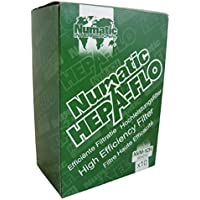 Numatic NVM-1CH HepaFlo Disposable Filter Bags Pack - for the Henry HVR200A, the Hetty HET200A, the James JVP180, and the Henry Micro HVR200M Vacuum Cleaners - (10-Bags Per Pack)