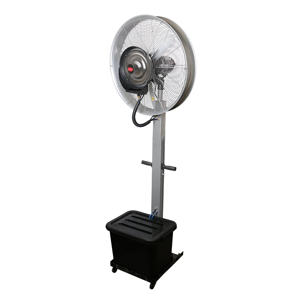 Buy Eurokraft 26 Mist Fan Cooler Water Commercial Domestic Kipas Angin Model Ac 15 Pk Big Spray 65 Ft Silver Online At Low Prices In India