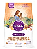 Halo Natural Dry Cat Food, Chicken & Chicken Liver Recipe, 11.5-Pound Bag