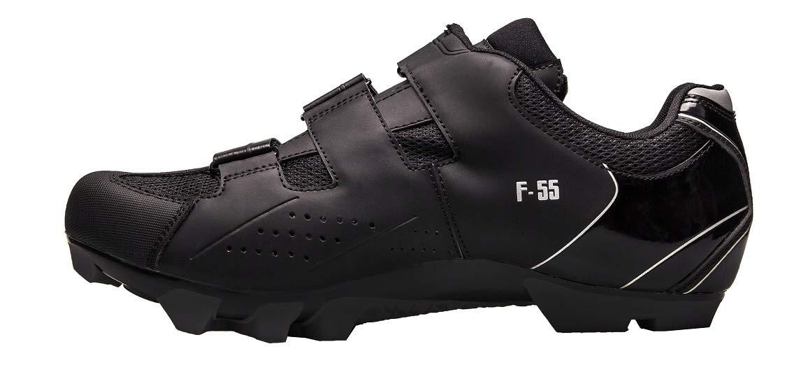 FLR FLR FLR F-55 Herren MTB Schuhe Fahrradschuhe Shimano SPD Klickschuhe atmungsaktiv schwarz Mountain Bike 84aaa5