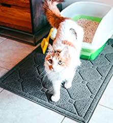 WHY SELECT MA PET LITTER BOX MAT?BPA & PHTHALATE FREE - 100% safe for you and your kittyEASY TO CLEAN - Easy and hassle-free cleaning; just shake the litter from the mat or vacuum it offEXTRA LARGE SIZE - 35'' length, 23'' width; Ma Pet e...