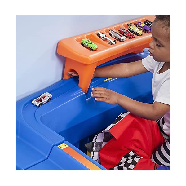 Step2 Hot Wheels Toddler to Twin Bed with Lights Vehicle 6