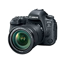 Canon Cameras US 26.2 EOS 6D Mark II EF 24-105mm f/3.5-5.6 IS STM Kit with 3-Inch LCD, Black (1897C021)