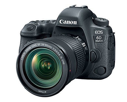 Canon EOS 6D Mark II with EF 24-105mm IS STM Lens – WiFi Enabled