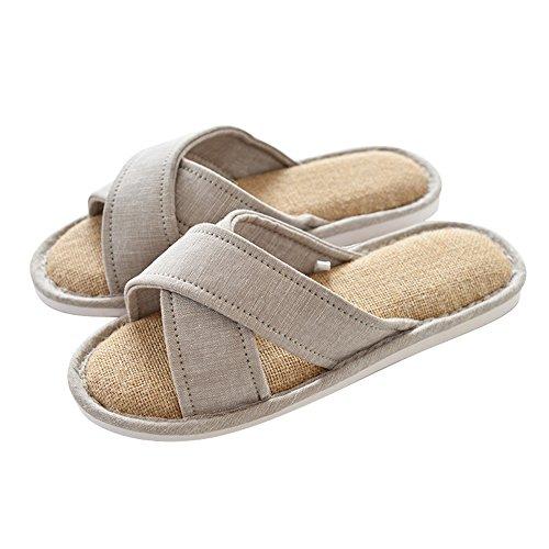 Zapatillas de Piso Temporada Zapatos Opcional 6 Impermeables Algodón Zapatillas Zapatillas Inicio Antideslizante Inicio de B ZZHF Parejas Colores Tamaño Opcional Cuatro AnBPgzx