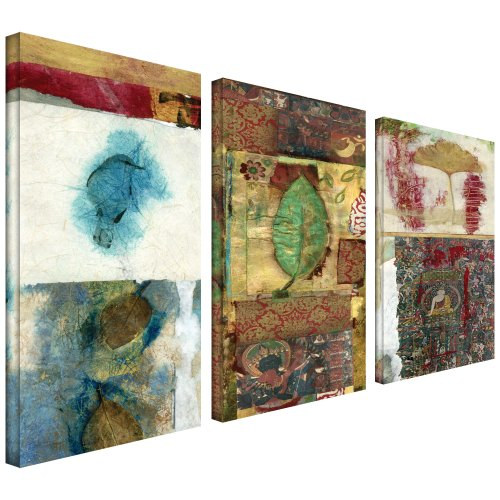 Art Wall 3-Piece Nature by Elena Ray Gallery Wrapped Canvas Artwork, 36 by (Tri Panel Wall)