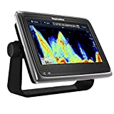 Raymarine a97 Multifunction Display with Fishfinder, Wi-Fi & Lighthouse Navigation Charts, 9""