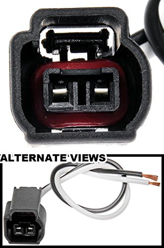 APDTY 756681 2-Wire Wiring Harness Pigtail Connector Fits Select Ford Cop Coil On Plug 4.6L 5.4L 6.8L Engine (Fits DG508 Ignition Coil; Replaces WPT986, S819)