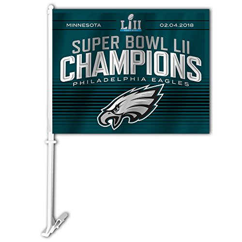 NFL Super Bowl Champ Car Flag, Blue