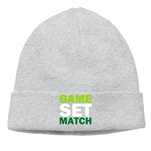 Game Set Match Lady Unisex Beanie Cap Hipster Beanie (Match Hipster)